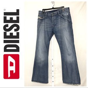 Diesel Industry Zaf Men's Bootcut Jeans Size 32